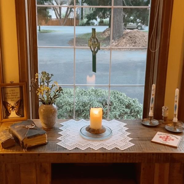 The Gilmore-Morse Family Home Altar