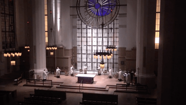 Compline on the Fifth Sunday in Lent, 2021