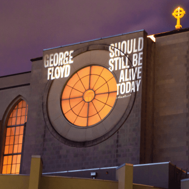 Projecting Justice at Saint Mark's