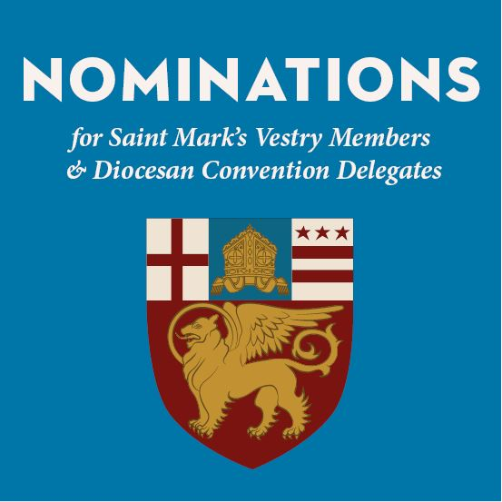 Nominate a candidate for Vestry or Diocesan Convention