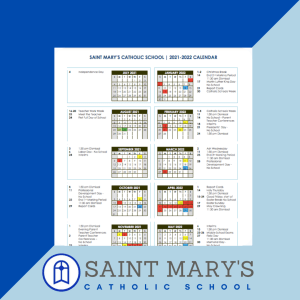 Now Available! 2021 – 2022 School Year Calendar