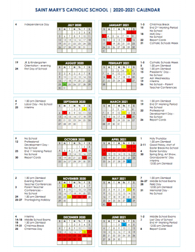 CALENDAR AS OF DEC 28