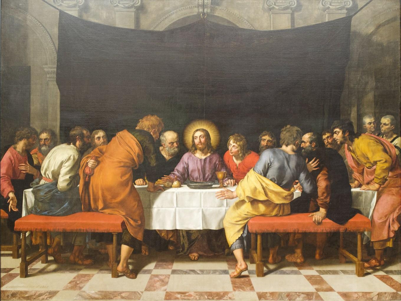 Frans-II-Pourbus-La-Sainte-Cene-_-Huile-sur-toile-1618-Louvre
