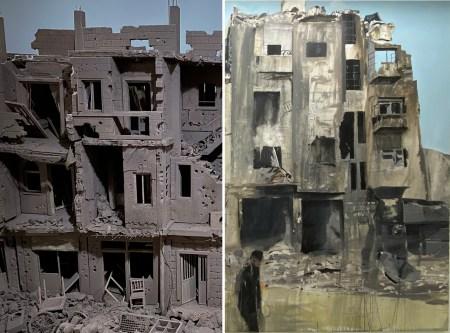 Villes dévastées : deux approches de Khaled Dawwa et Brian Mac Guire