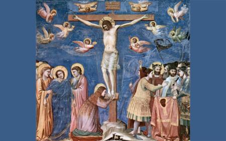 Giotto - Crucifixion - Cappella degli Scrovegni - Padoue