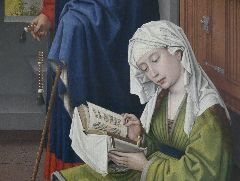 R. van der Weyden - Madeleine lisant