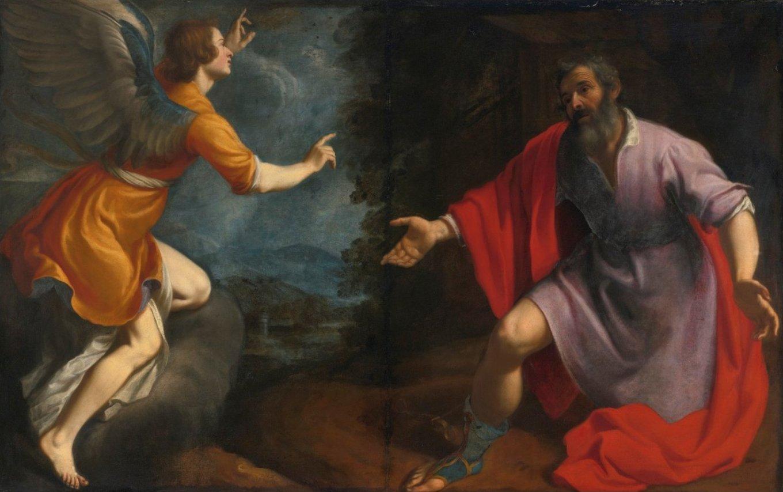 Zanobi Rosi, La vision du centurion Corneille