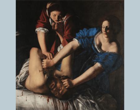 Artemisia Gentileschi, Judith et Holopherne, Musée de Capodimonte, Naples, 1612-13 ca.