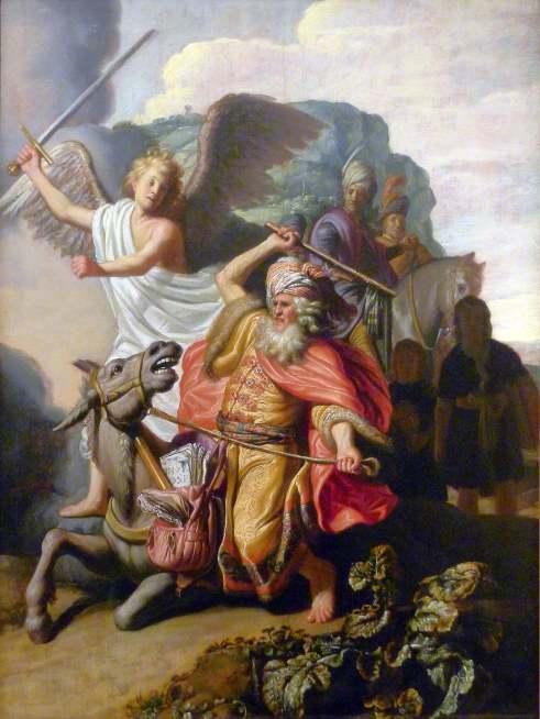 Rembrandt van Rijn, Balaam et son ânesse, 1626, Musée Cognac Jay, Paris
