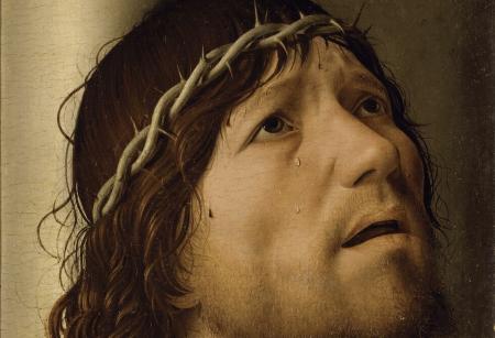 Antonello da Messina, Ecce Homo, Louvre