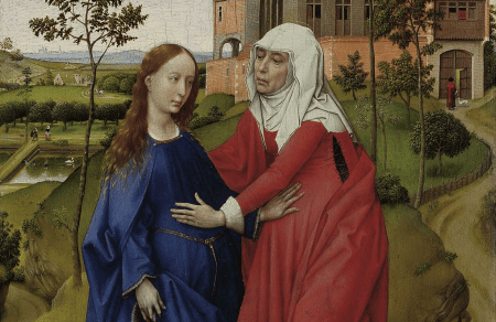 Rogier van-der-weyden-La visitation