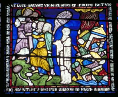 La femme de Loth - Cathédrale de Canterbury