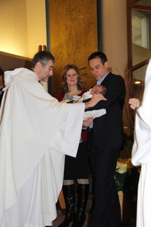 Snider baptism anointing