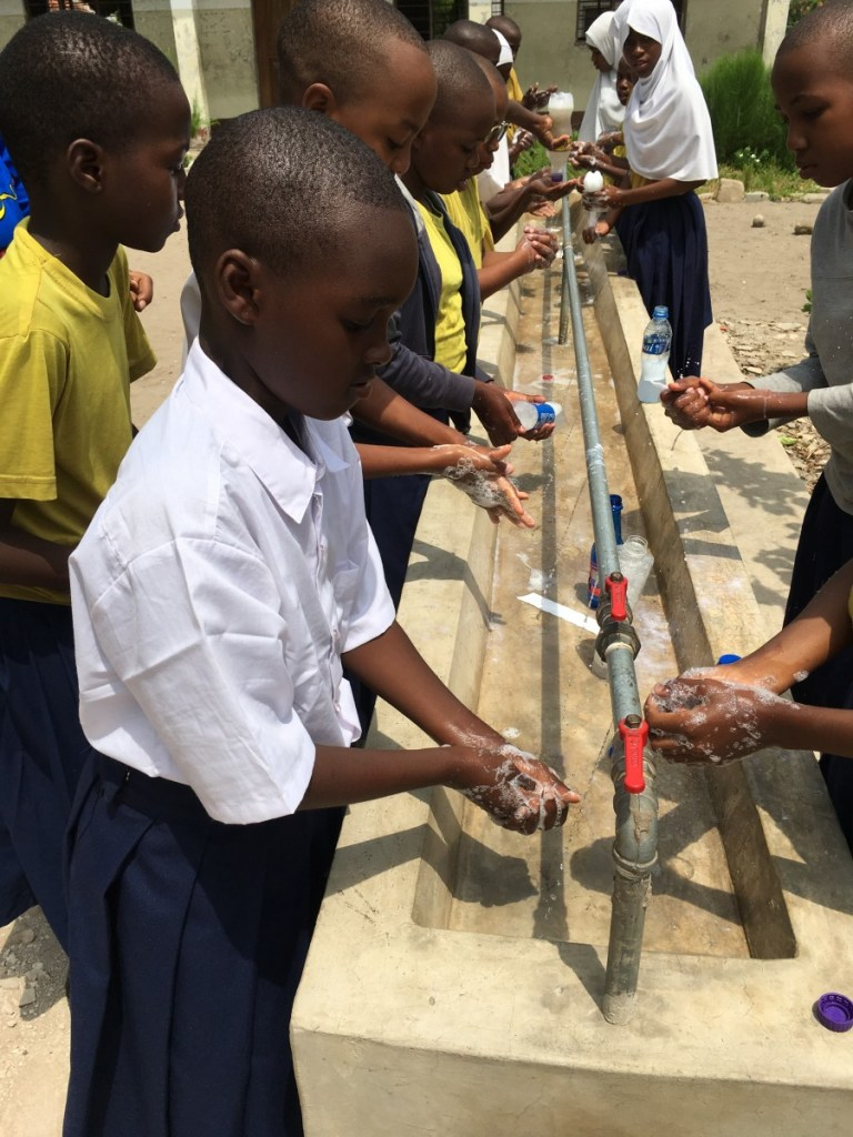 St. Nicholas Hospital group-hand-washing Handwashing in the Developing World