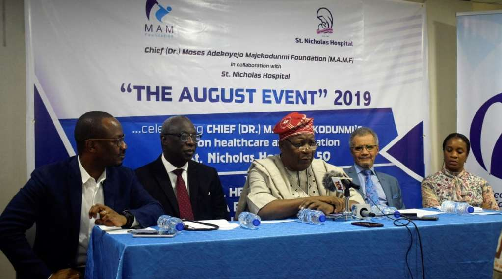 St. Nicholas Hospital Press-Conference-St.-Nicholas-Hospital-August-Event-2019.-Mr.-Kofo-Maje... Press Conference: The August Event, 2019