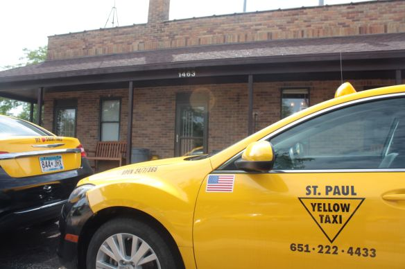 St. Paul Yellow Taxi headquarters at Marshall and Pascal.