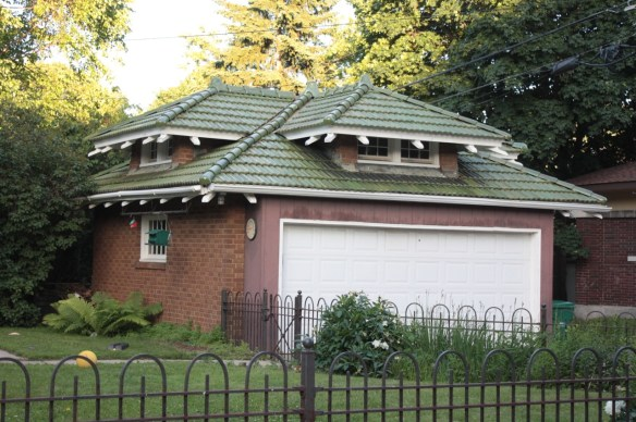 A Japanese influenced garage at 976 Fairmount.