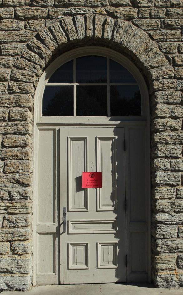 The entrance to Mattocks School and Spanish classroom.