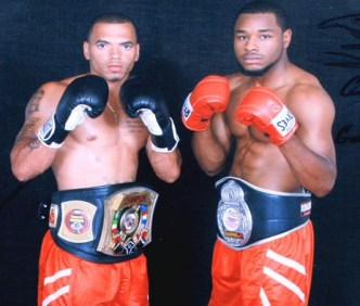 Dalton Outlaw (left) and Cerresso Fort (right), owners of Element Boxing and Fitness. Photo courtesy Element.