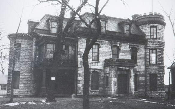An undated picture of the Lasher-Newell House.