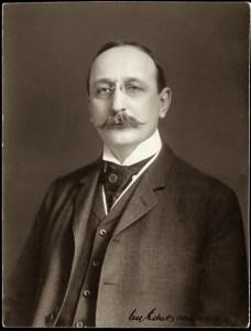 Cass Gilbert in 1910. Courtesy Minnesota Historical Society.