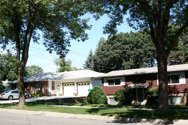 A couple of homes in the 1700 block of Grace Lane, just west of White Bear Avenue.