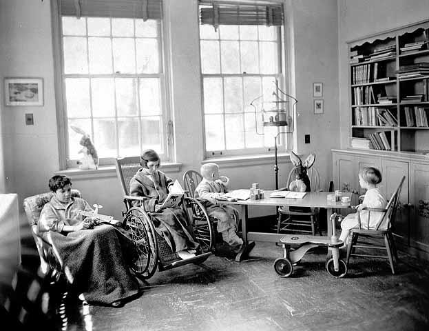 Children's Hospital at 311 Pleasant Avenue in 1932. Photo courtesy Minnesota Historical Society