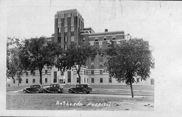 Bethesda Hospital in 1935, shortly after it opened at 559 Capitol Boulevard. Courtesy Minnesota Historical Society