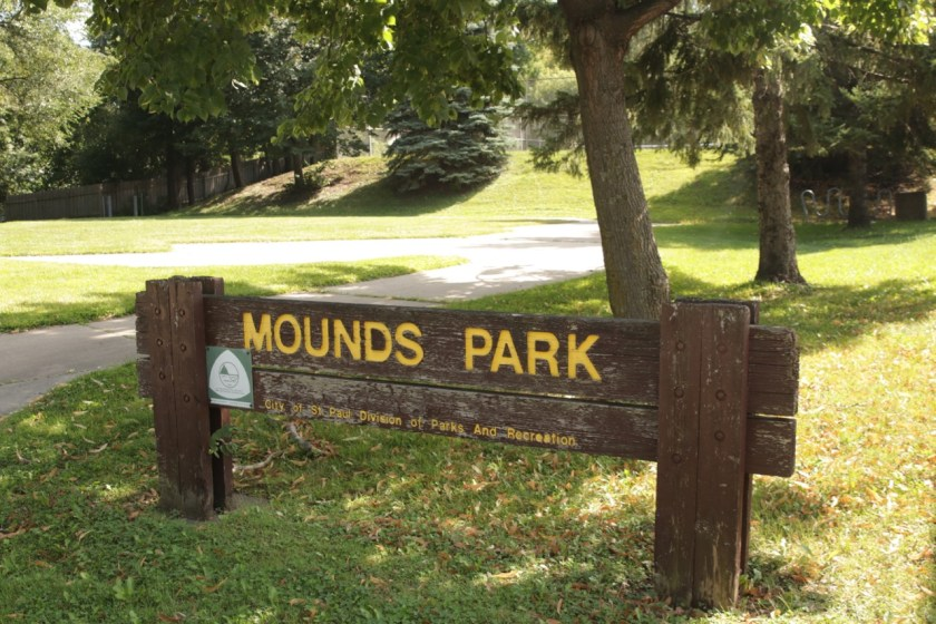 Mounds Park, the park that isn't a park.
