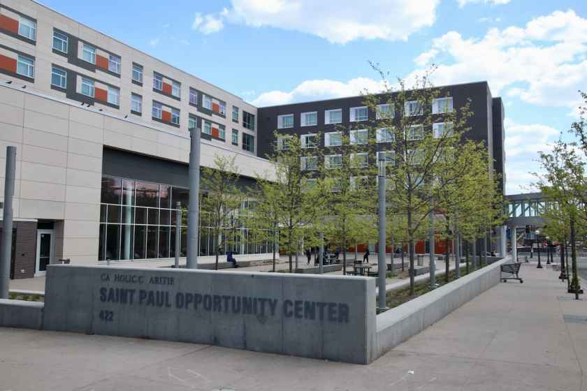Women and men looking to improve their health, housing and overall wellness can get services at the Saint Paul Opportunity Center. https://www.cctwincities.org/locations/saint-paul-opportunity-center/