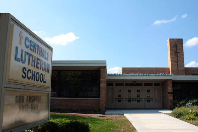 Central Lutheran School, formed by the merger of several Lutheran schools, opened here in 1951. A predecessor school goes back to 1861, just after Minnesota became a state.(6))