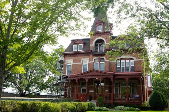 The Banholzer House has been used by Hazelden for years.