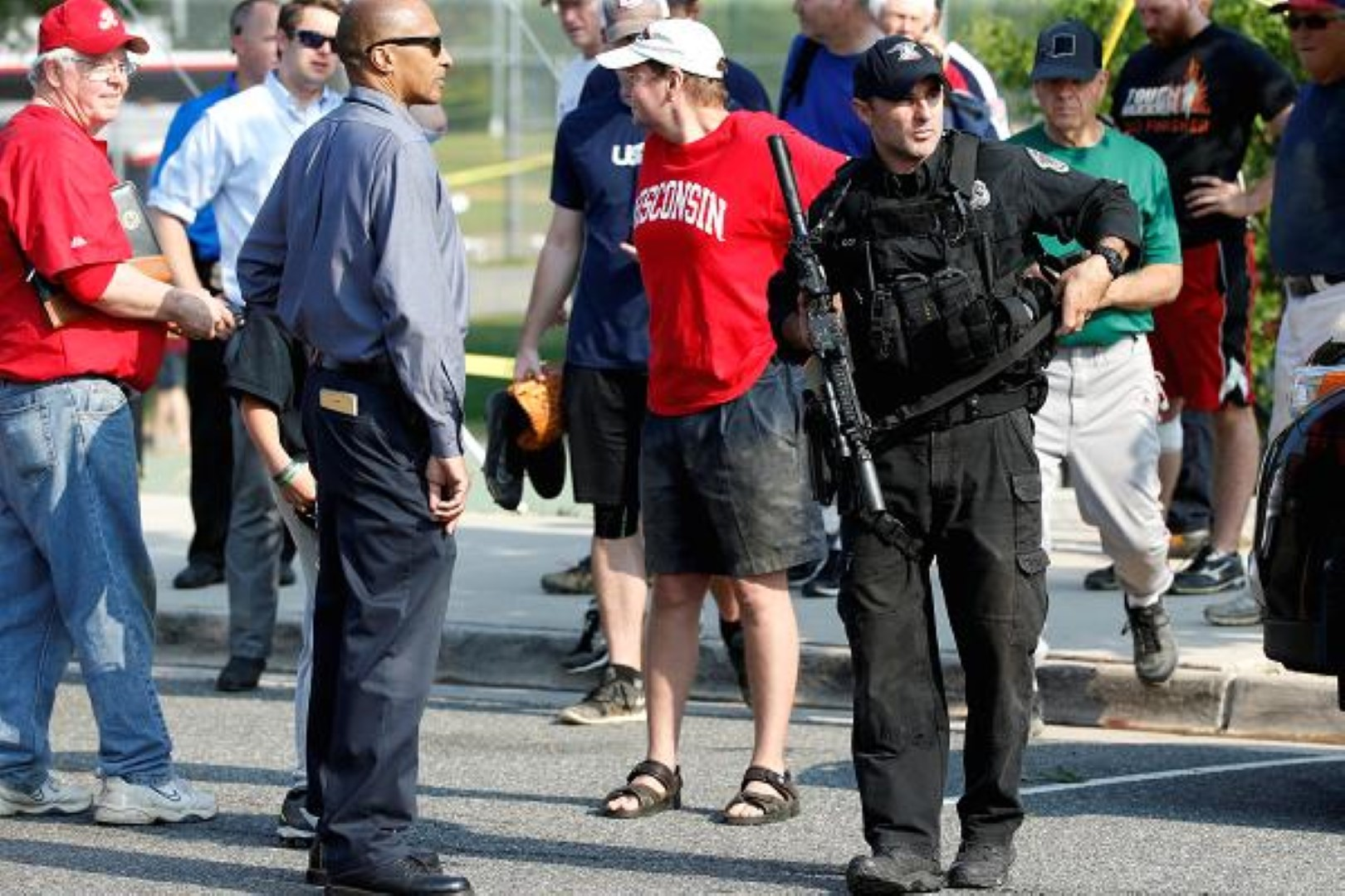 Gunman shoots congressman, police at Virginia baseball practice