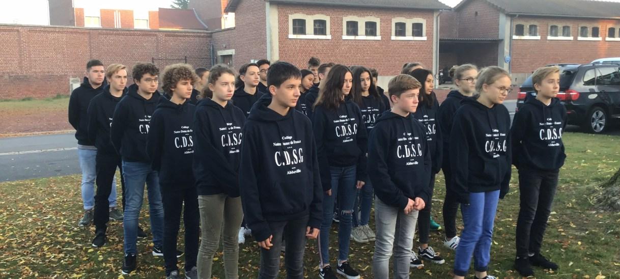 Sortie des élèves de CDSG