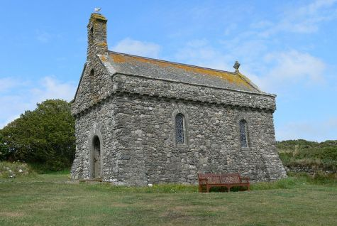 St. Non's Chapel, Wales. I visited there in September 2009