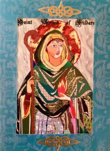 St. Brigid of Kildaire by Betsy Hayes. Contact pastorpilgrim about information on this artist.