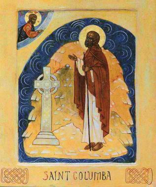St. Columba of iona