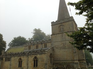 St. Peter's Church, Hackness likely built over another of St. Hilda's foundations. photo taken Sept. 2014