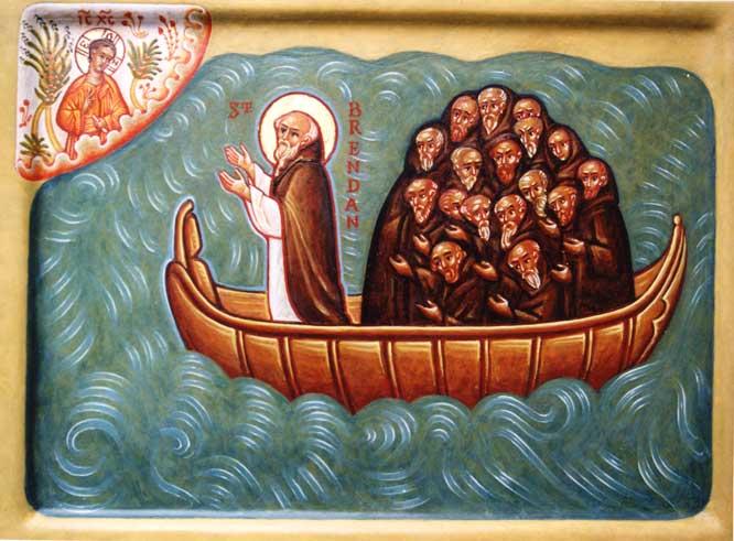 Celts to the Creche: St. Brendan the Navigator | Saints' Bridge