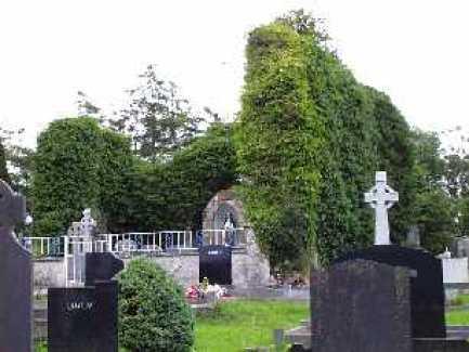 St. It's Church at Killeedy in ruins.