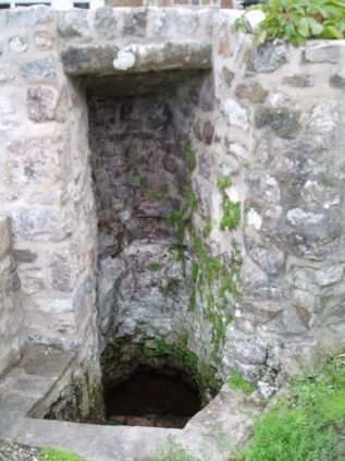 Holy Well of St. Deiniol in Penally, Pembrokeshire, Wales