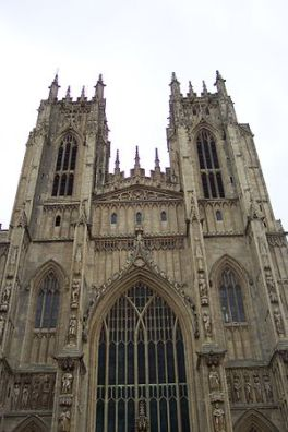 West Front of Beverley Minster. photo from wikipedia