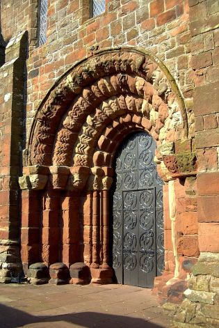 West entry to St. Bee's Priory