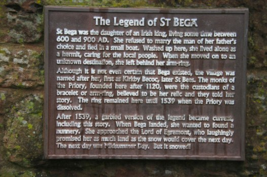 Legend of St. Bega