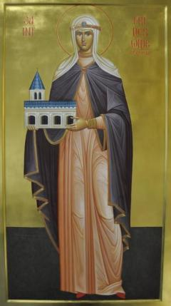 Icon of St. Frideswide