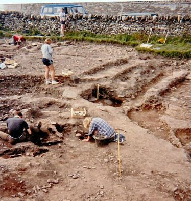 Archaeological Excavation of Whithorn, 1990's