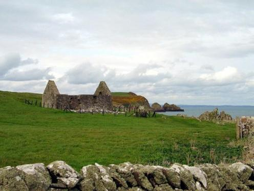 Ninian's Chapel on the Isle of Whithorn