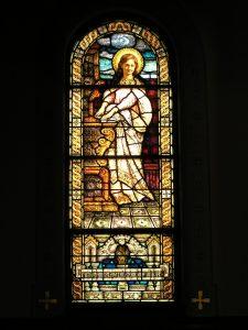 Memorial Window of St. Cecilia