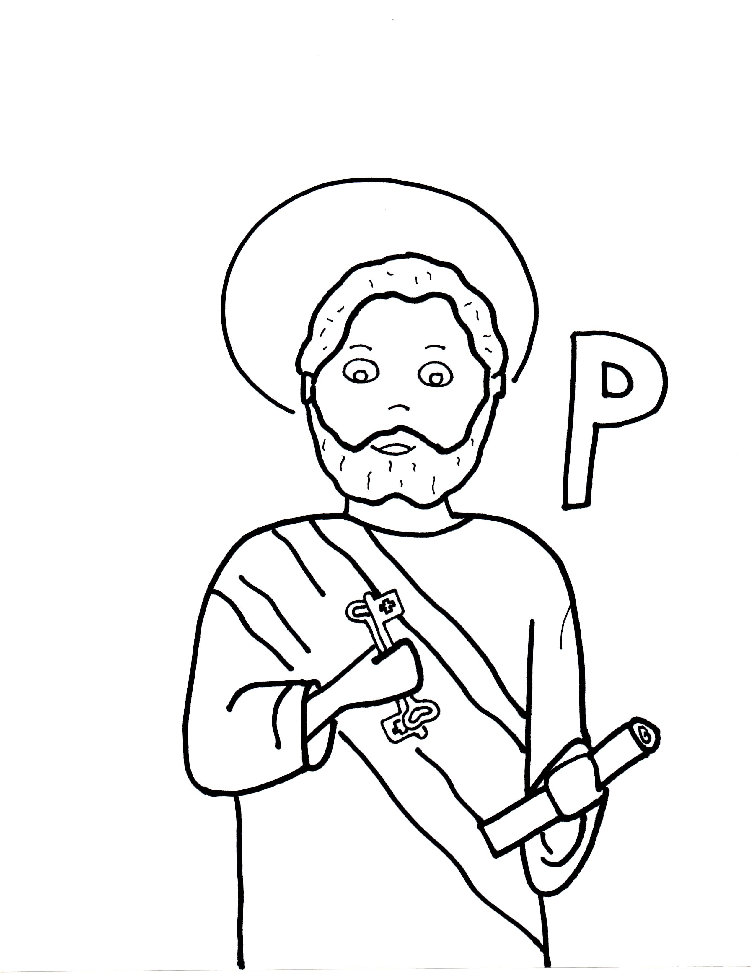 P Is For St Peter