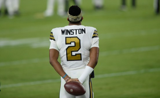 Saints QB Jameis Winston formalizes this and signs his new contract